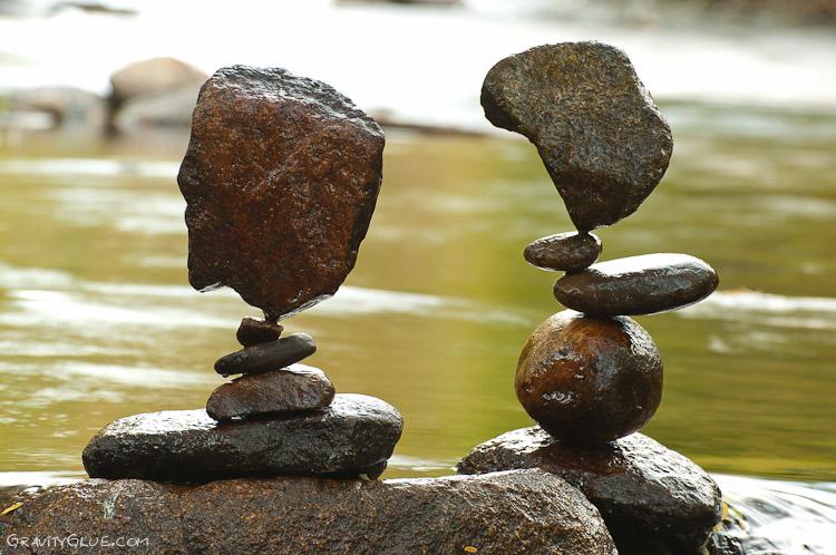 Arte con piedras taringa for Pintura de piedras