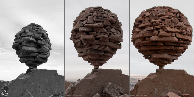 Orbs, balanced by Michael Grab -- or has Sisyphus finally found a solution?