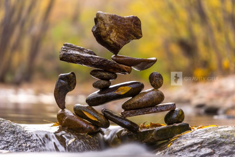 land art 2018 wall calendar gravity glue the stone balance meditations of michael grab